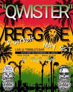 Tribble's Bar & Grill Piedmont SC Qwister Rustbelt Reggae